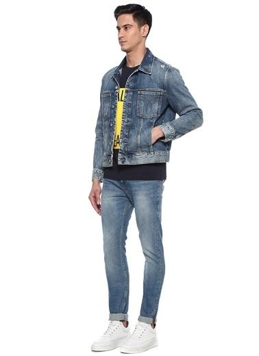 Ck Jeans Ceket İndigo